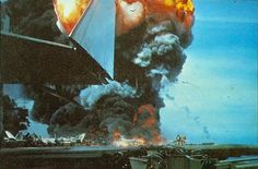 Jul Rocket causes deadly fire on aircraft carrier USS Forrestal I Will Remember You, Flight Deck, Aircraft Carrier, Us Navy, Vietnam, Past, Old Things, Military, Fire