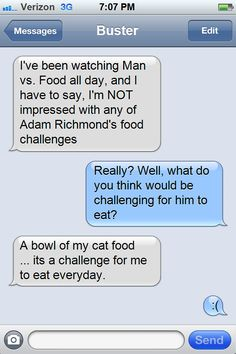 How Much Should a Cat Eat Daily? Adult cats require a balanced and healthy diet that meets all the nutritional requirements. Since they are carnivores they need certain kinds of food that provide the required nutrients. Richmond Food, Nutritional Requirements, I Ship It, Food Challenge, Man Vs, Cat Food, Texts, Messages, Soul Eater