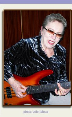 Carol Kaye is a living legend in pop, rock, r&b, soul, and jazz music. She is the MOST RECORDED BASSIST OF ALL TIME. She has taught most of the major rock bassists that you can think of and many (like Sting and John Paul Jones) have used her books and playing guides to teach themselves.