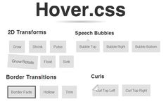 Hover.css – CSS3 Library With More Than 40 Hovering Effects - Hongkiat