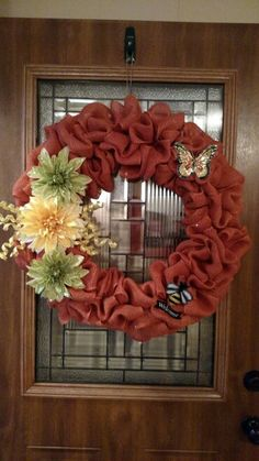 Spring or Fall Wreath