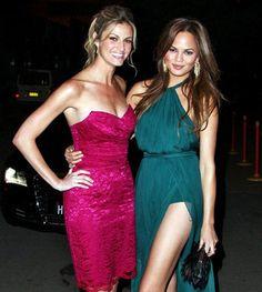 Celebrity BFFs: Erin Andrews and Chrissy Teigen