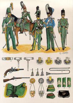 Les 1er et 2e Régiments de Chasseurs à Cheval Les planches uniformologiques de Robert Aubry