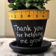 Thank You Flower Pot