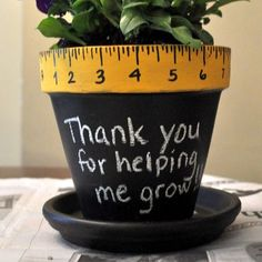 Thank You Flower Pot