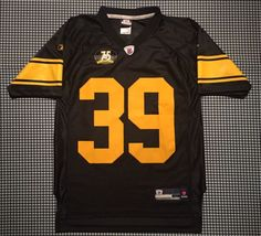 98e7018316c Willie Parker Pittsburgh Steelers 75th Anniversary Replica Jersey Size YL  Reebok
