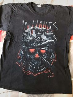 In flames shirt