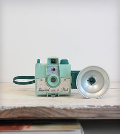 Antique Camera - Imperial Mark XII in Mint Green by Gallymogger on Scoutmob Shoppe