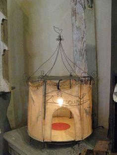 fete et fleur: antique french puppet theatre