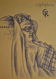 Creativity of Fià: Sketch a biro