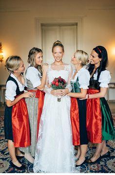 Wedding Moments Austria Real Weddings Dirndl Bride Ceremony Pictures