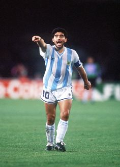 1a5498c46 Diego Maradona of Argentina at the 1990 a World Cup Finals.