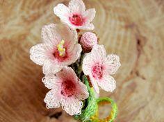 桜 タックピン -淡ピンクメイン- ブローチ Hatsu-Ne ハンドメイド通販・販売のCreema