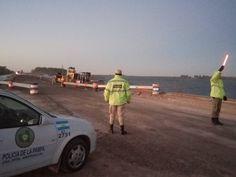 Vialidad Nacional todavía adeuda a la policía los adicionales por los cortes de la ruta nacional 35