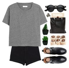 """""""#857"""" by maartinavg ❤ liked on Polyvore featuring Madewell, Zara and Elizabeth and James"""