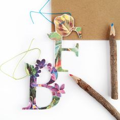 DIY Vintage Letter Tags | a Silhouette project  #MaritzaLisa