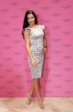 Adriana Lima - Victoria's Secret Fantasy Bra in Dubai 16 December 2013 in Alexis Dress, Jerome C. Rousseau Sandals