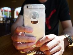 **MADE IN JAPAN** Soft Clear TPU Case Snow Globe design for iPhone 6 & iPhone 6s