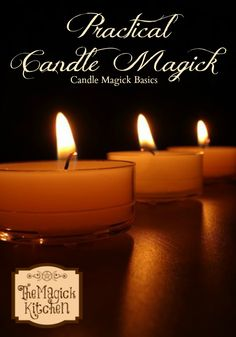 The Magick Kitchen Practical Candle Magick - Pinned by The Mystic's Emporium on Etsy Purple Candles, Black Candles, Candle Spells, Candle Magic, Wiccan Witch, Magick, Wiccan Spells, Candle Reading, Healing Spells