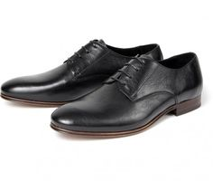 Men's Champlain (Black) Formal Derby | H Shoes