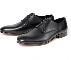 Men's Champlain (Black) Formal Derby | H Shoes