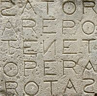 The Sator Square is a four-times palindrome, and some people have attributed magical properties to it, considering it one of the broadest magical formulas in the Occident. An article on the square from The Saint Louis Medical and Surgical Journal vol. 76, reports that palindromes were viewed as being immune to tampering by the devil, who would become confused by the repetition of the letters, and hence their popularity in magical use.