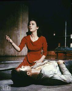 'West Side Story,' 1961. Natalie Wood and Richard Beymer.