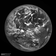 Pictures of Earth from the moon taken by Nasa's LRO
