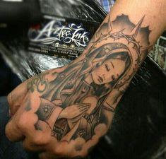 Virgin Mary Back Tattoo . 40 Virgin Mary Back Tattoo . 80 Religious Christian Tattoo Designs with Deep Meaning Cholo Tattoo, Chicano Tattoos, Dope Tattoos, Girly Tattoos, Badass Tattoos, Pretty Tattoos, Forearm Tattoos, Body Art Tattoos, Tattoos For Guys