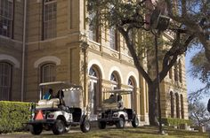 Bobcat Bobbie... I was paid to drive a golf cart (sometimes an 18 passenger van) around the Texas State campus and pick up students who needed rides back to their car or residence hall. Armed with a   police radio and a safety vest.