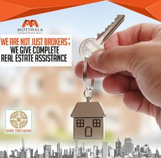 WE ARE NOT JUST BROKERS; WE GIVE COMPLETE REAL ESTATE ASSISTANCE Contact:- Phone: +92-21-35377011-4 Mobile: +92-3002019446 E-mail: contact@motiwalaestate.com