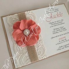 """From """"Check out the most elegant Quince invites with lace!"""" story by Quinceanera.com on Storify — https://storify.com/quinceExpo/lace-quince-invites"""