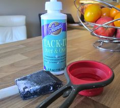 Going Buggy: How to re-stick your mats - and a giveaway