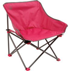Coleman Kickback Folding Chair (2.325 RUB) ❤ liked on Polyvore featuring home, furniture, chairs, colored chairs, heavy duty chair, coleman chairs, coleman furniture and pink furniture