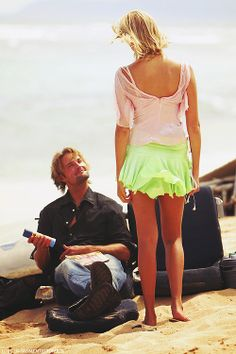 A gallery of Lost publicity stills and other photos. Featuring Evangeline Lilly, Matthew Fox, Josh Holloway, Naveen Andrews and others. Serie Lost, Terry O'quinn, Lost Tv Show, Josh Holloway, Matthew Fox, Maggie Grace, Emilie De Ravin, Funny Jokes To Tell, All That Matters