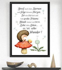 Art Print Hedgehog Miracle - New Ideas Moon Nursery, Safari Nursery, Elephant Nursery, Nursery Prints, Nursery Art, Owl Quotes, Smart Art, Printing Ink, Watercolor Print