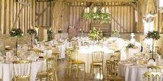 lillibrooke manor - Google Search Wedding Decorations, Table Decorations, Rustic Barn, Wedding Venues, Wedding Ideas, Dream Wedding, Table Settings, Wedding Dresses, Furniture