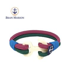 Sailors, surfer, traveler and especially YOU! Fix your style with Bran Marion Nautical Bracelets! Nautical Bracelet, Nautical Jewelry, Marine Rope, Captain Hook, Everyday Look, Handmade Bracelets, Jewelry Collection, Sailor, Burgundy