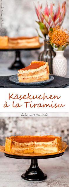 Die perfekte Kombination aus Käsekuchen und Tiramisu: Käsekuchen à la Tiramisu!