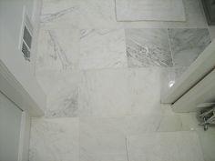 Master bathroom renovation #marbletilefloors