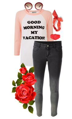 """""""a rose by any other name"""" by disabledpaladin on Polyvore featuring Wildfox, STELLA McCARTNEY, Mudd and Lacoste"""