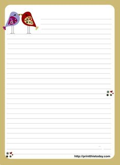 7807dd2e982f 8 Best Images of Printable Love Letter Stationery - Free Printable Stationery  Paper with Lines