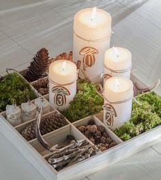 Rustic Christmas Decor | Sarah Barksdale Design