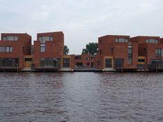 Land in Zicht #Haarlem vanaf het water.