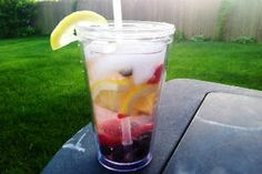 Lemon Berry Fat Flush