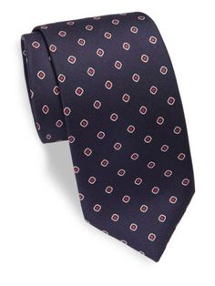 Mens Medallion-Print Silk Necktie Brioni Cheap Best Seller Discounts Outlet Real Best Prices Sale Online Cheap Release Dates PwK3g