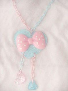 Fairy kei - Kawaii pastel necklace