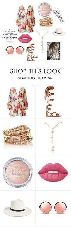 """""""Wedding"""" by hageranne on Polyvore featuring Sigerson Morrison, SPINELLI KILCOLLIN, Lime Crime, Janessa Leone and Matthew Williamson"""