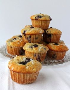 Food Lust People Love: Banana Blueberry Muffins for #MuffinMonday