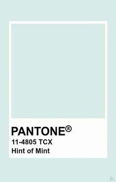 Pantone Hint of Mint Colour Pallete, Colour Schemes, Color Trends, Color Combinations, Pantone Colour Palettes, Pantone Color, Pantone Green, Pantone Swatches, Color Swatches